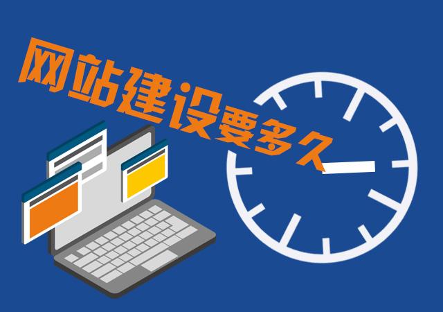 网站建设需要多久?